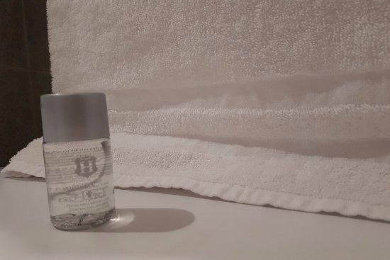 Nuit d'un Jour: Gel douche dans toutes les chambres