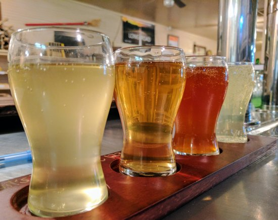 Millington, TN: Flight of Ciders at LRC.