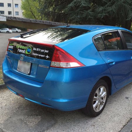 Le Grand Saconnex, Switzerland: Honda Insight, 5 portes, automatic, Hybride