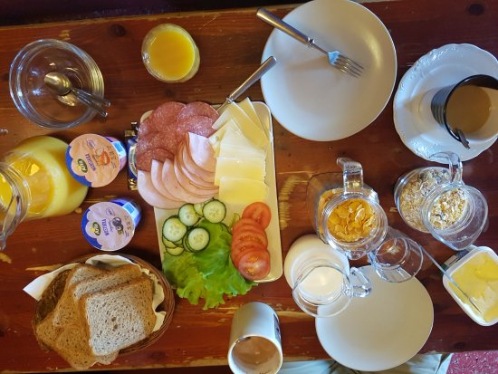 Ivalo, Suomi: Desayuno