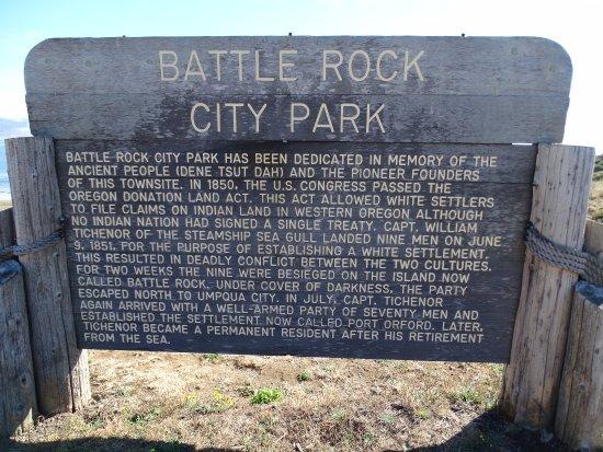 Battle Rock Park: Hinweis