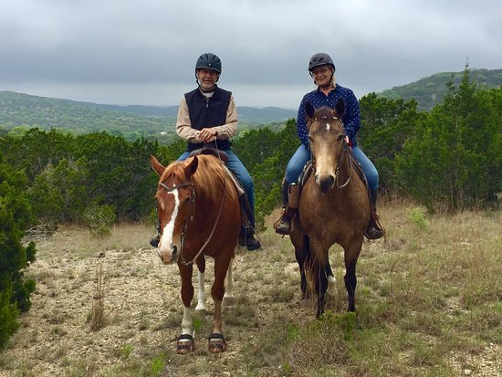 Bandera, TX: Riding the trails nearby...