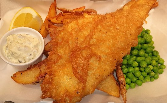 The Old Thatch Inn: Proper Fish & Chips