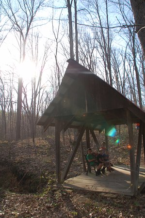 Creola, OH: Hiking on property