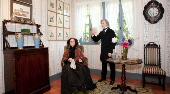 Vascoeuil, France : JULES MICHELET FAIT LA LECTURE A ADÈLE DUMESNIL 1842