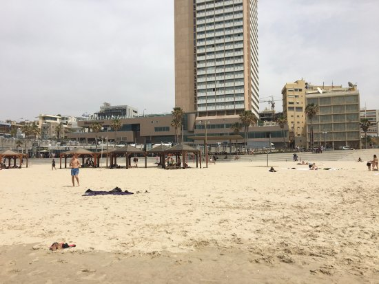 Sheraton Tel Aviv Hotel: View of Hotel from Beach