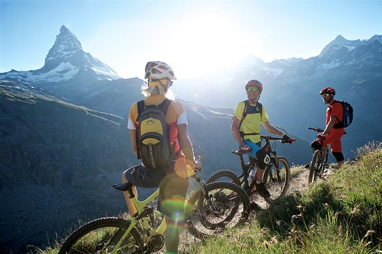 Matterhorn Lodge: Mountainbike-Paradies am Fusse des Matterhorns