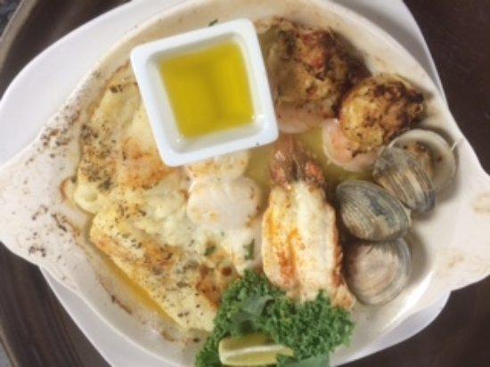 Rio Grande, Nueva Jersey: Broiled Seafood Combo