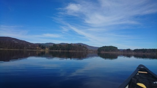 Aviemore, UK: Intro to Canoe Day at Loch Insh