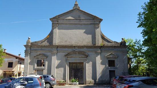 Pralormo, Italia: VECCHIA CHIESA
