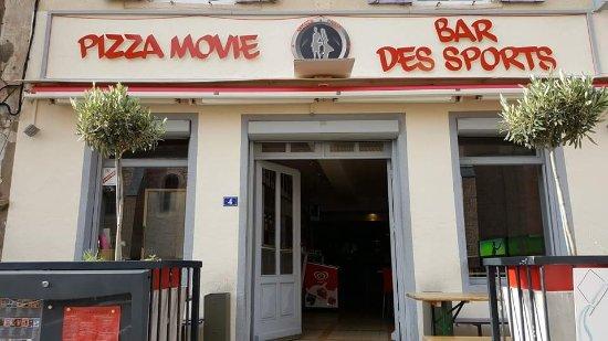 Romaneche-Thorins, Γαλλία: Pizza Movie Bar Des Sports