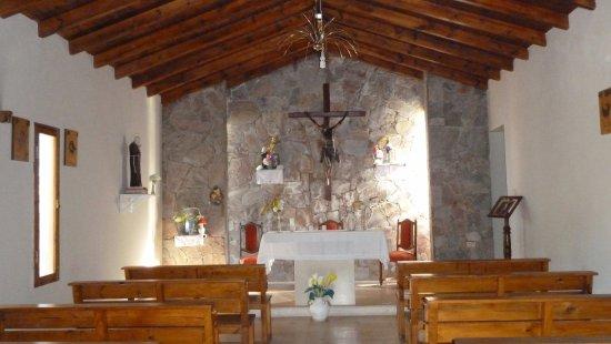 Estancia Grande, Argentina: Interno chiesa