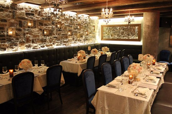 La vecchia restaurant toronto north end menu prices for Best restaurants with private dining rooms toronto
