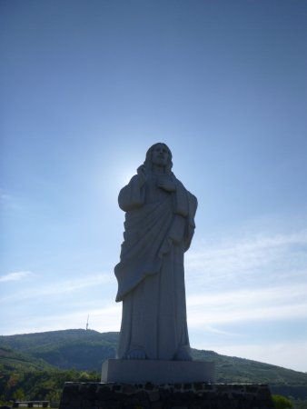 Blessing Christ Statue
