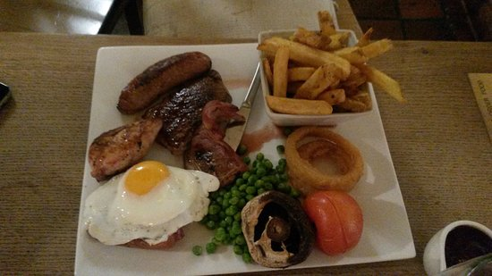 Chale, UK: Main - Mixed Grill
