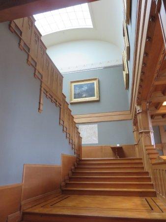 Turun taidemuseo: Stairs