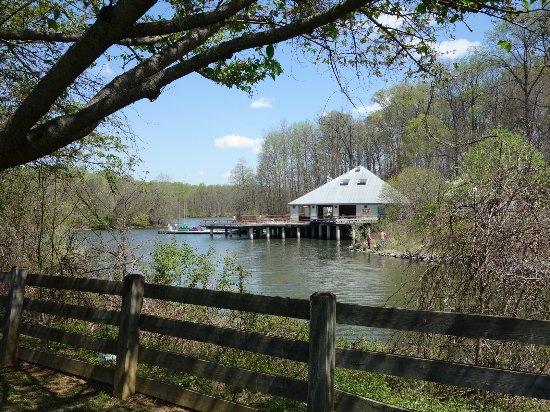 Ellicott City, MD: Adventure Hut & Restrooms