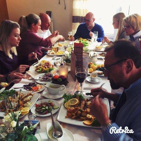 Wittmund, Germany: Geburtstagsessen mit Familie