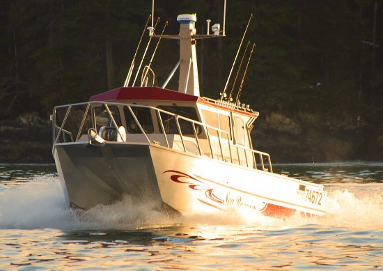Nicest Boat in the Sitka Charter Fleet