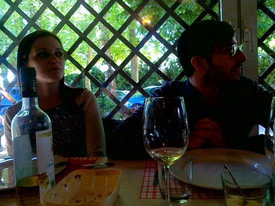 Bereguardo, Italia: Tavoli in veranda