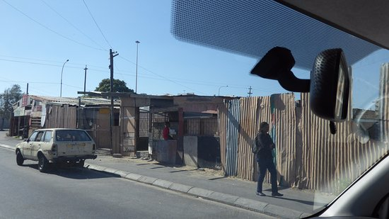 Welgemoed, Sydafrika: tin shacks