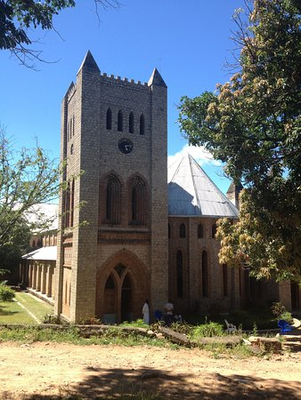 Likoma Island, Malawi: St Peter's cathedral is a 30 minute walk from Ulisa Bay Lodge.
