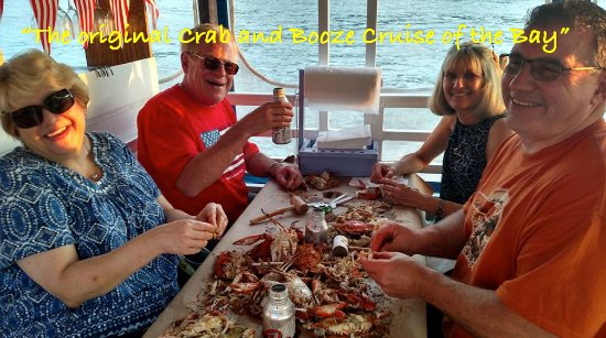 Chesapeake City, Мэриленд: Crab cruise on board M/V Bay Breeze...!!