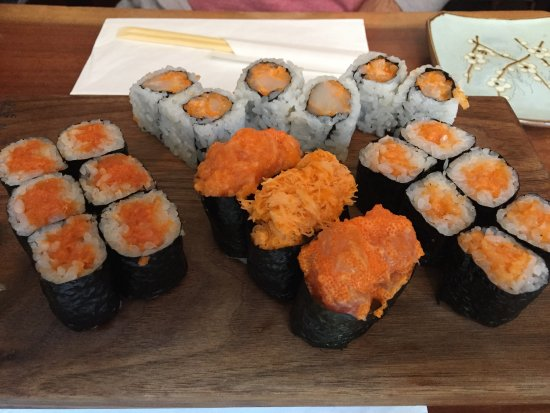Blue Ribbon Sushi: Combo mit Spicy Rolls