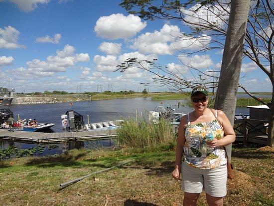 Weston, Flórida: The Everglades seem to go on forever