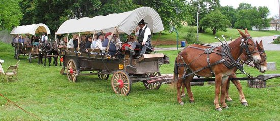 Independence, MO: Chuck Wagon Dinner Tour
