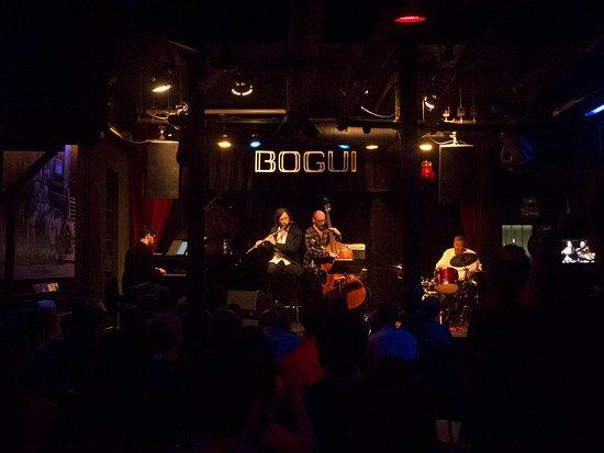 Bogui Jazz: La sala