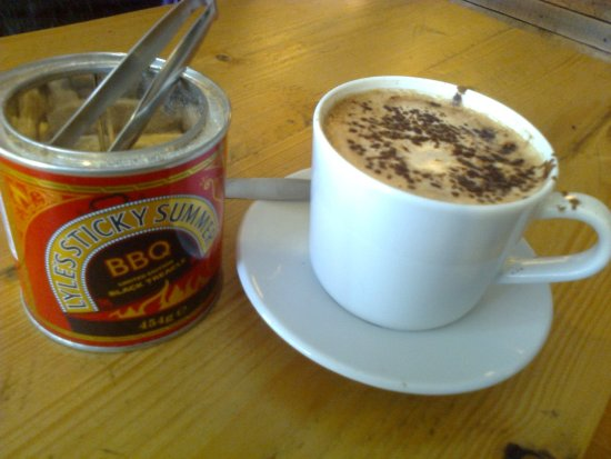 Lovely Cappuccino at BakeHouse24, Ringwood, Hampshire