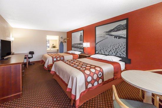 แมรีส์วิลล์, มิชิแกน: 2 Queen Beds Exterior Corridor