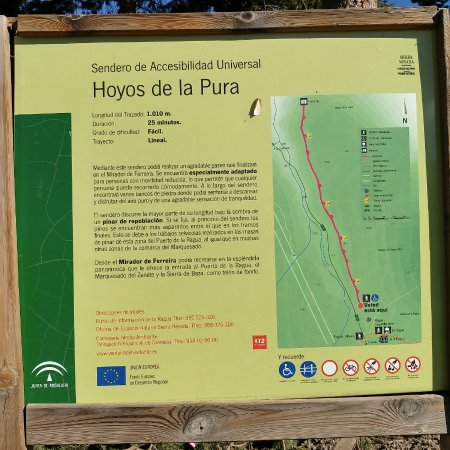 Laroles, España: Panel informativo