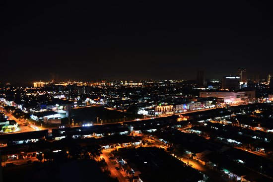 Johor Bahru District, Malaysia: Night View from Room