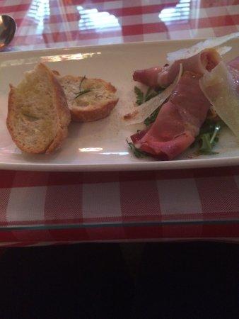 Little Italy: Parma Ham & Mozzarella