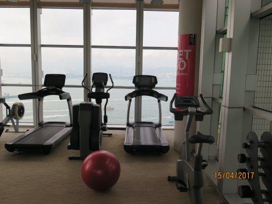 Gym picture of hotel jen hong kong tripadvisor