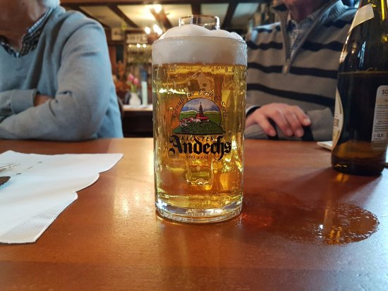 Weinheim, Germany: Draught beer