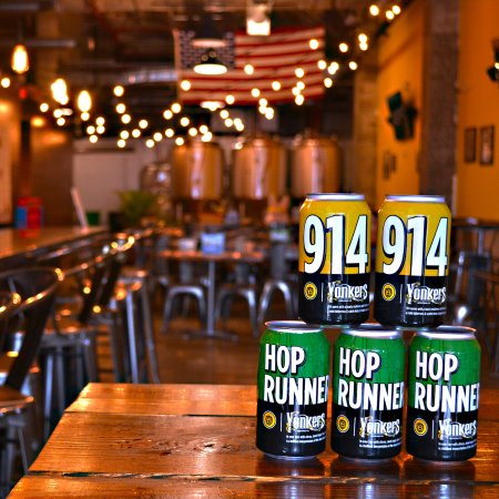 Yonkers, Nowy Jork: Hop Runner and 914 now available in cans