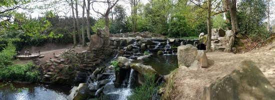 Cascade Waterfalls at Virginia Waters Windsor Great Park