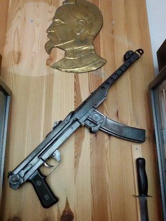 Музей КГБ: Arme soviétique Musée KGB