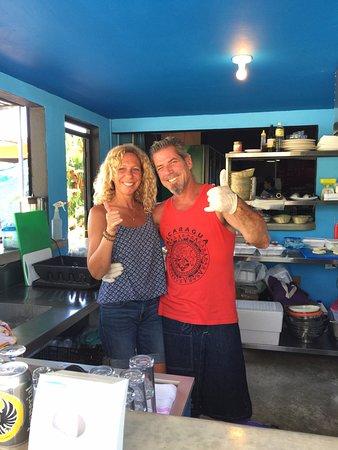 Playa Grande, Costa Rica: Sami & Yaniv