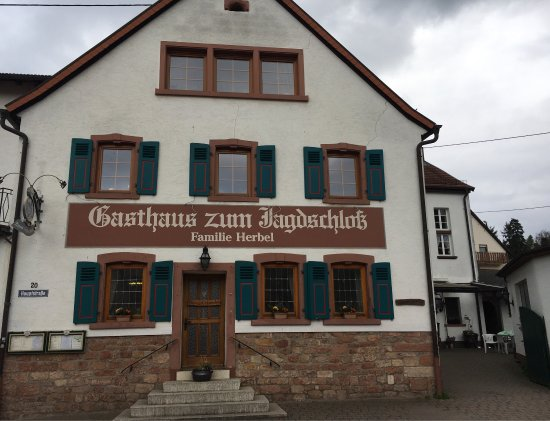 Gasthaus Zum Jagdschloss, Altleiningen - Restaurant Bewertungen ...
