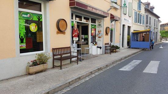 Navarrenx, Francja: La devanture