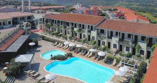 Hotel Palau: L'area centrale del Palau Hotel vista dall'alto