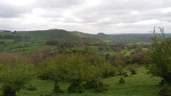 Ilam, UK: Thorpe Cloud in the distance