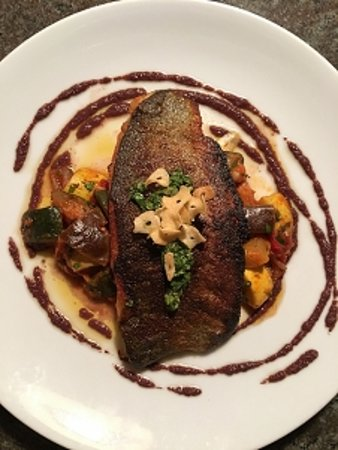 Neptune Beach, FL: Pan Roasted Idaho Trout