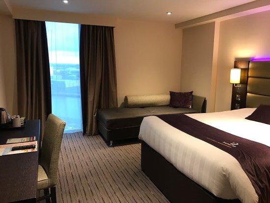 Fairly new hotel