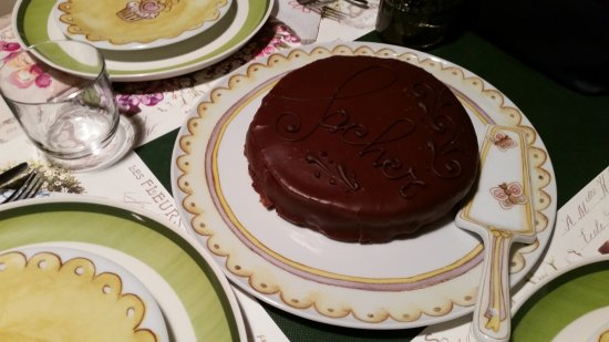 Province of Monza and Brianza, Italia: Sacher, per gli amanti!