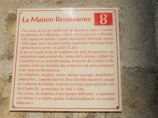 Beaulieu-sur-Dordogne, Prancis: explication